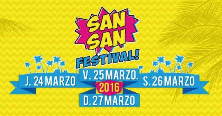 Fangoria, cuarto cabeza de cartel del San San Festival