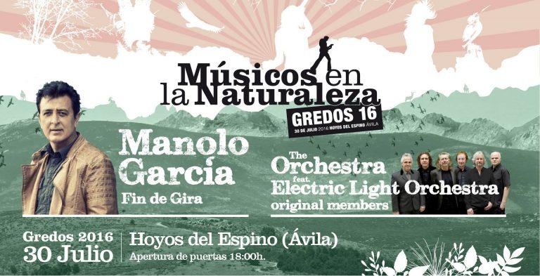 """Manolo García cabeza de cartel del """"Músicos en la Naturaleza"""""""