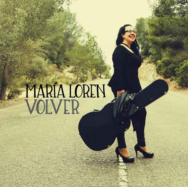 """""""Volver"""", los poemas extraídos del corazón de María Loren"""