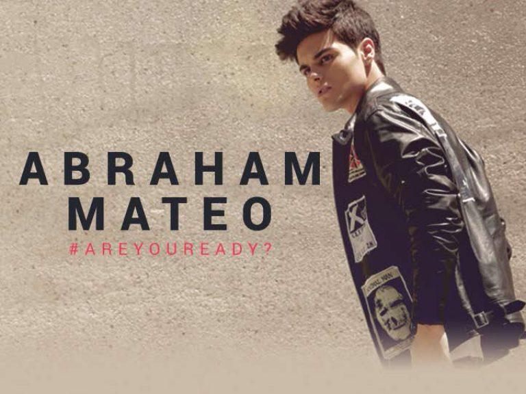 "Abraham Mateo reeditará su exitoso álbum ""Are you ready?"""