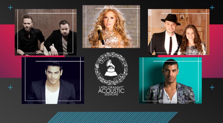 Sexta edición de los Latin Grammy Acoustic Sessions