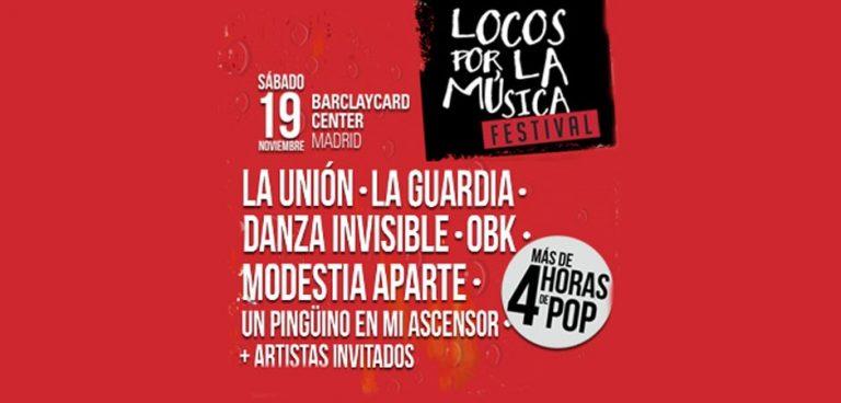 Locos por la Música reúne lo mejor del pop español