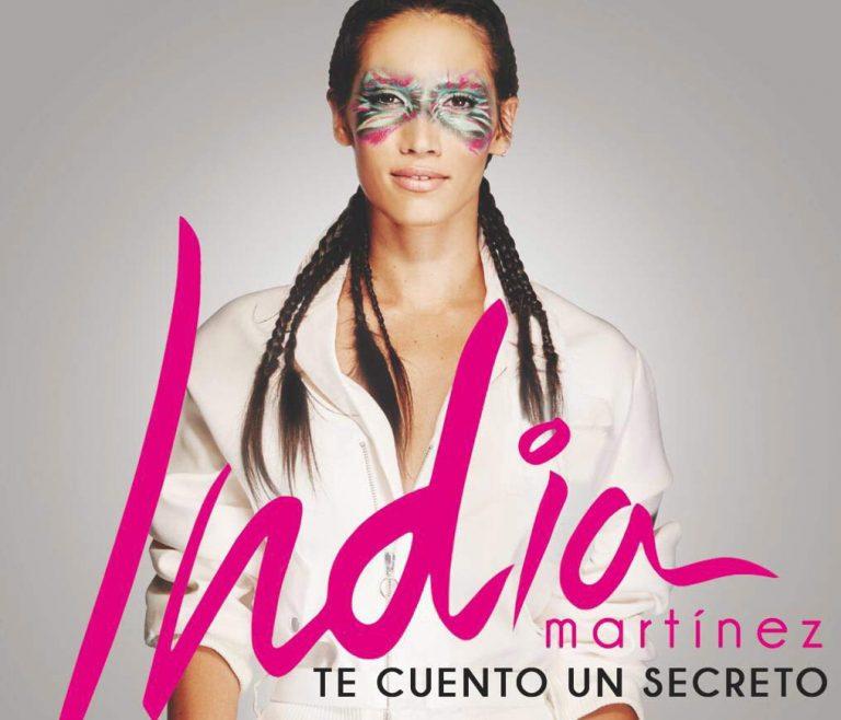 """India Martínez anuncia las firmas de discos de """"Te Cuento Un Secreto"""""""