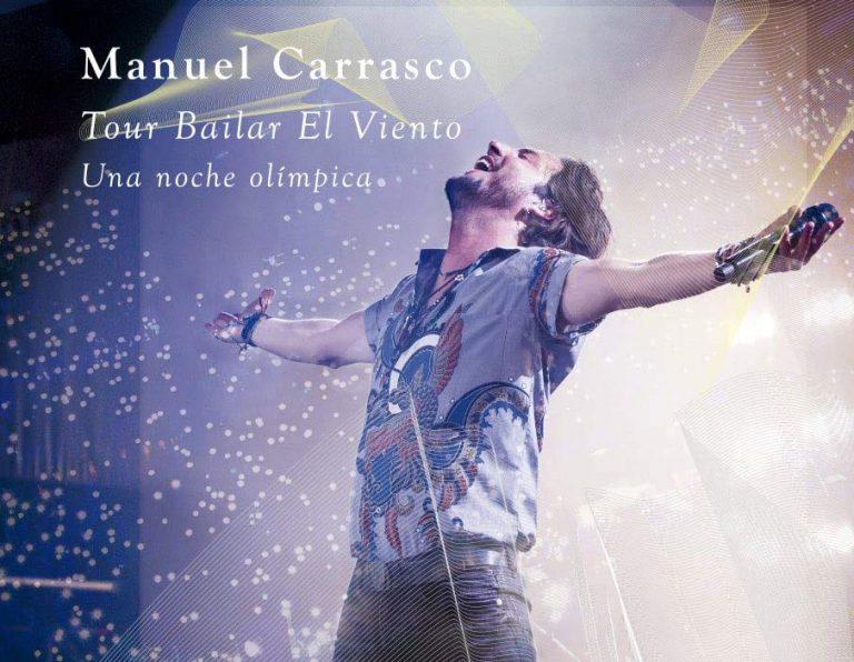 """Manuel Carrasco presenta el CD+DVD """"Una Noche Olímpica"""""""