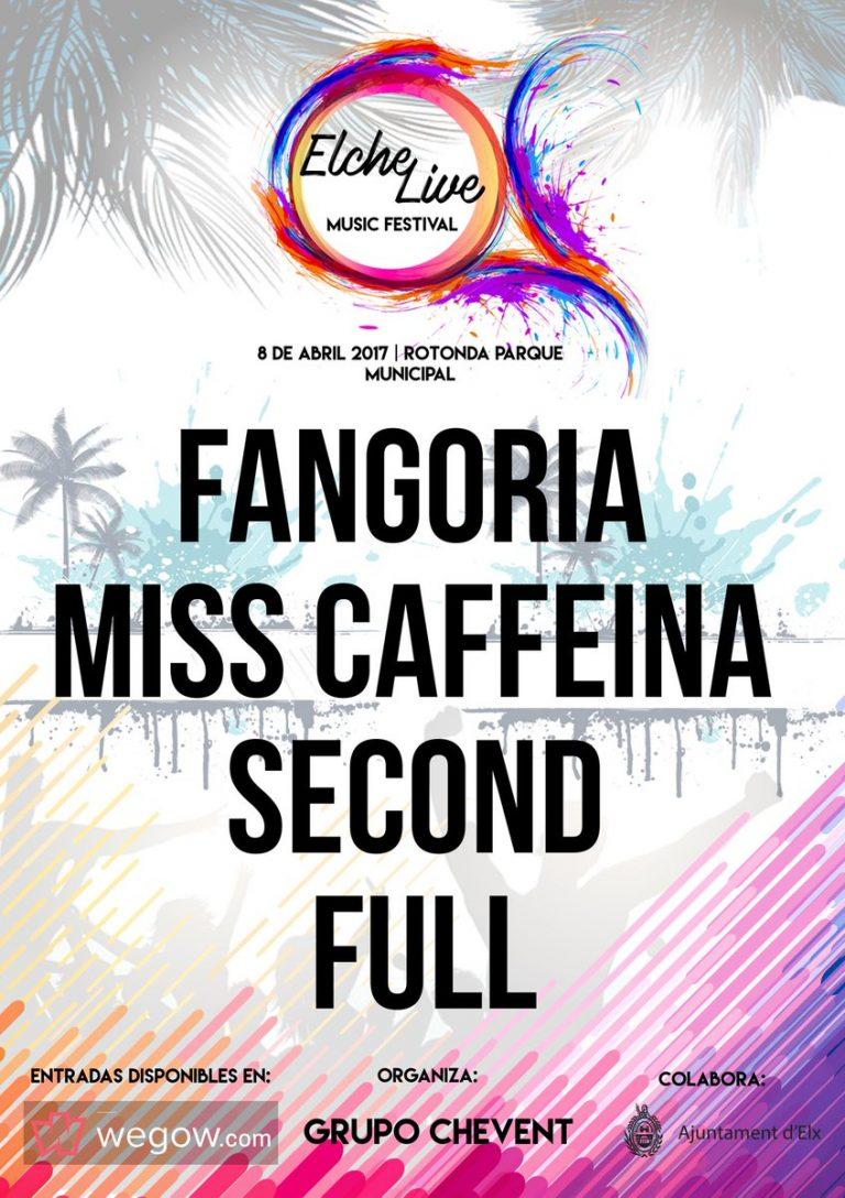 Elche Live Music Festival presenta su cartel 2017