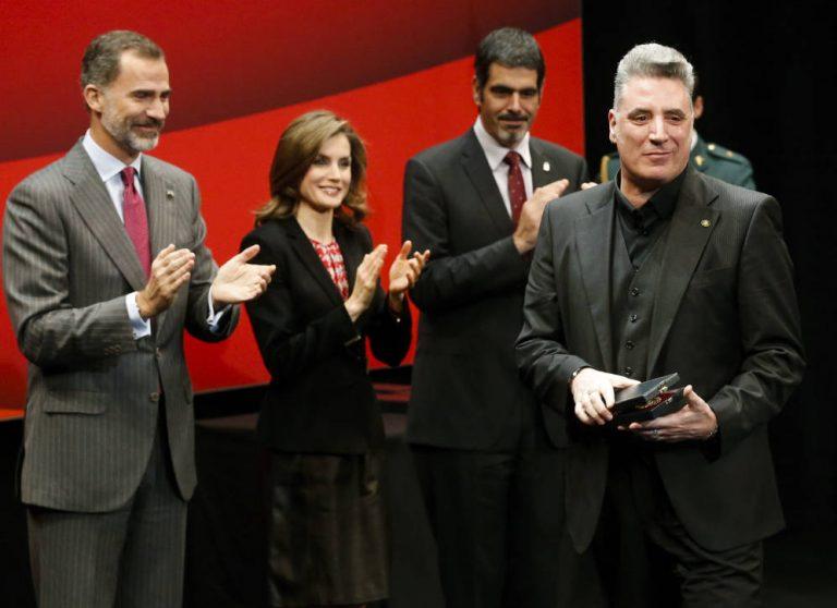 Loquillo obtiene la Medalla de Oro al Mérito en las Bellas Artes