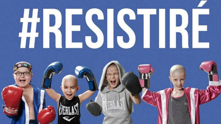 Resistiré, el grito de guerra de los niños enfermos con cáncer