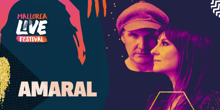 Amaral cabeza de cartel del Mallorca Live Festival