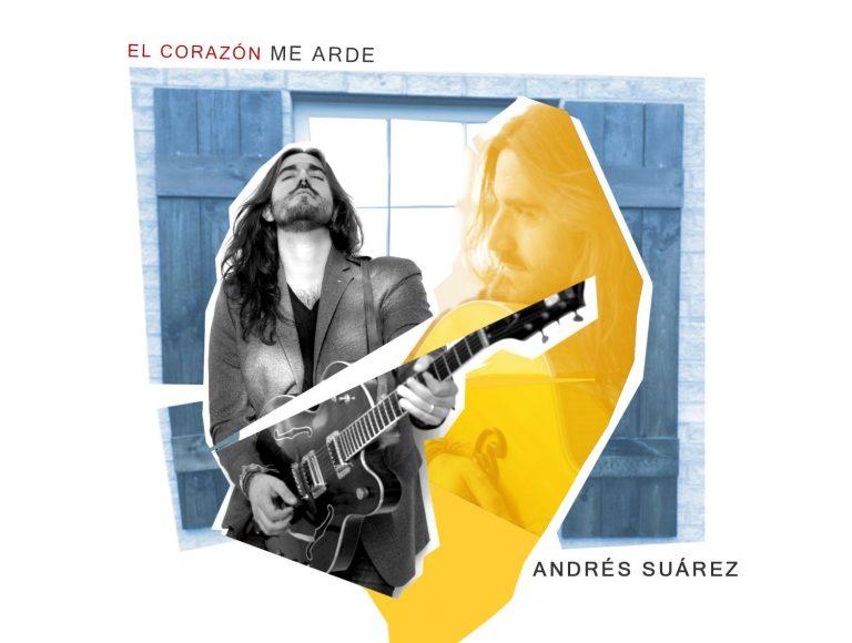 Andrés Suárez adelantará su nuevo álbum el 31 de marzo