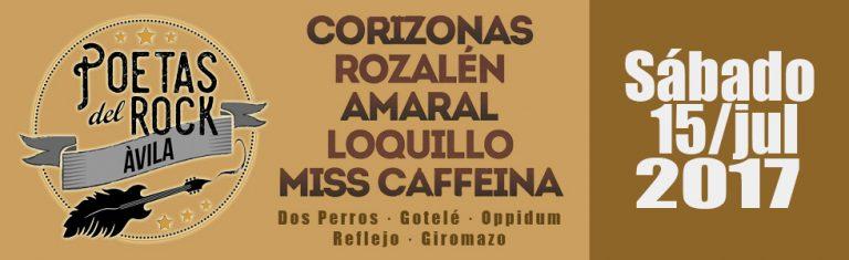 Amaral encabeza el cartel del II Festival Poetas del Rock