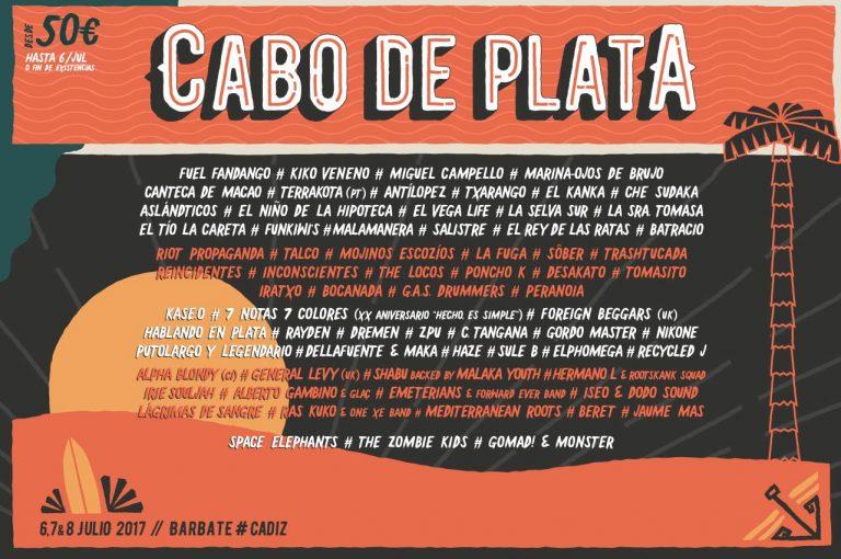 Llega la segunda edición del Festival Cabo de Plata