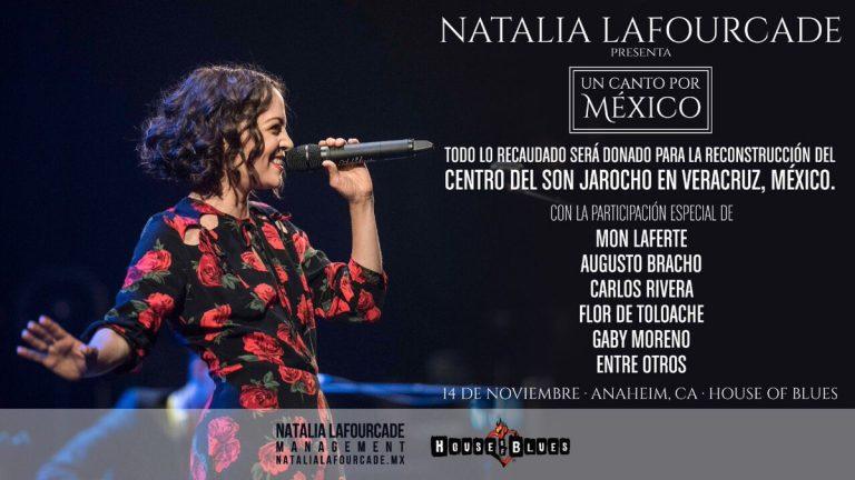 """Natalia Lafourcade presenta """"Un canto por México"""""""