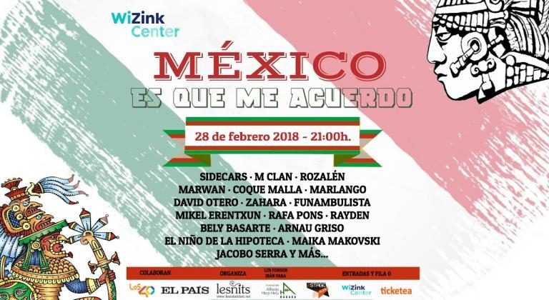 """Llega el concierto solidario """"México. Es que me acuerdo"""""""