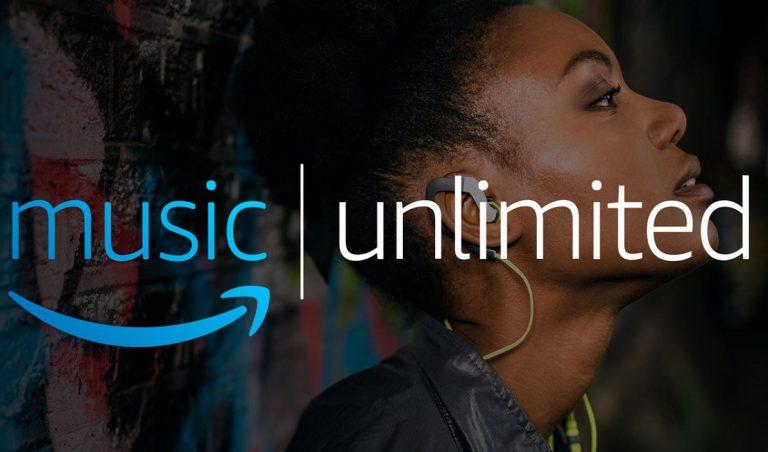 Prueba gratis Amazon Music Unlimited durante un mes