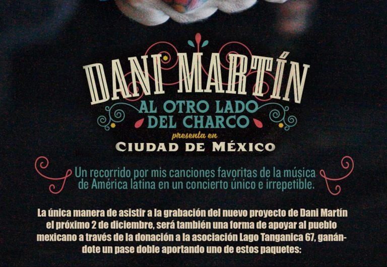"""""""Al otro lado del charco"""", el nuevo proyecto en directo de Dani Martín"""