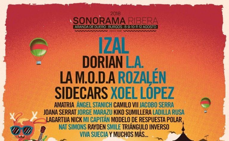 Sonorama Ribera anuncia las primeras confirmaciones de 2018