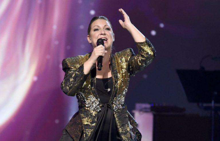"Niña Pastori recibe el premio ""Flamenco en la piel"" 2018"