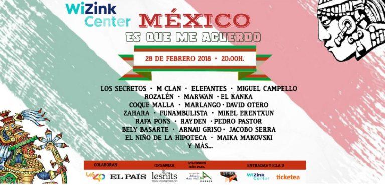Más de 30 artistas se reúnen para ayudar a México