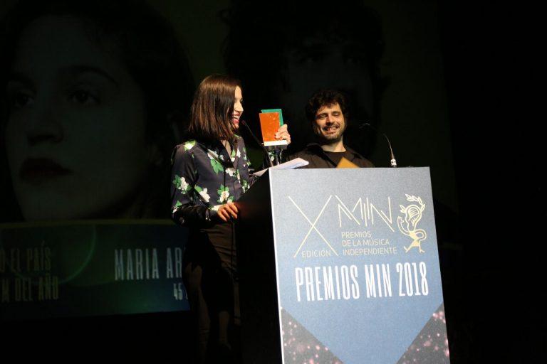 María Arnal i Marcel Bagés y Belako triunfan en los Premios MIN