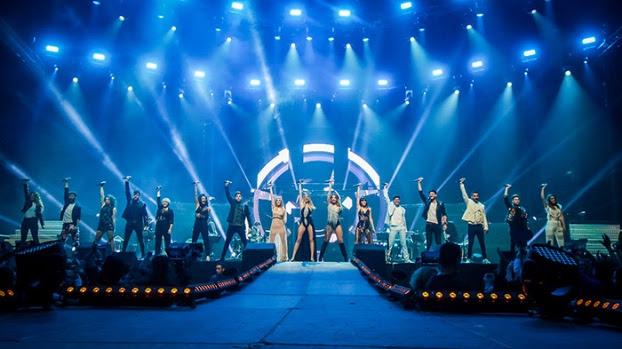 Primer concierto de la Gira OT 2017 en Barcelona