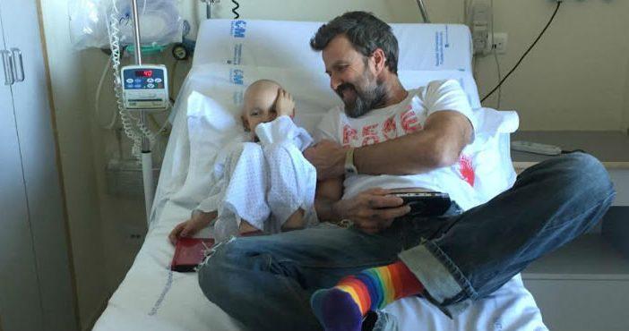 """50 Palos"" contra el cáncer infantil"