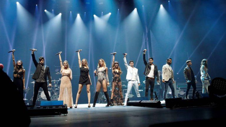 Cinco grandes artistas invitados en el concierto de OT en el Bernabéu