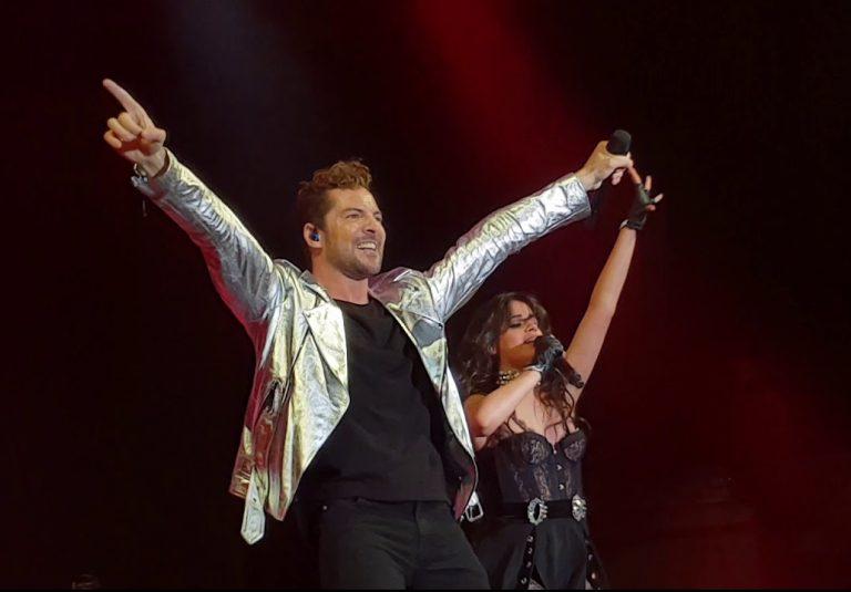 Gran actuación de Bisbal junto a Camila Cabello en Madrid