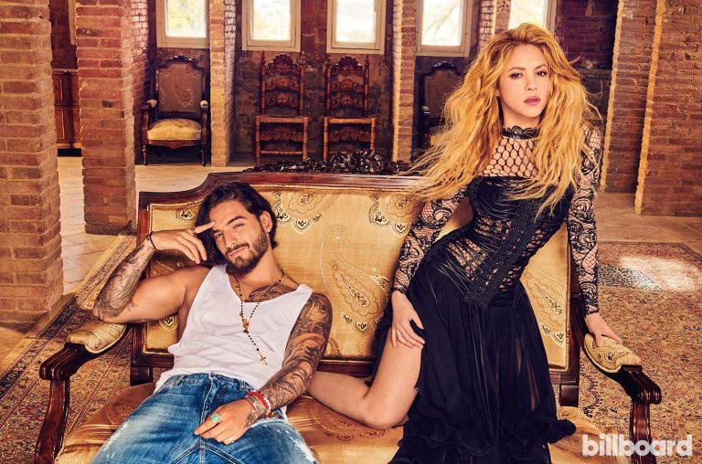 "Disco de Oro para Shakira y Maluma con ""Clandestino"""