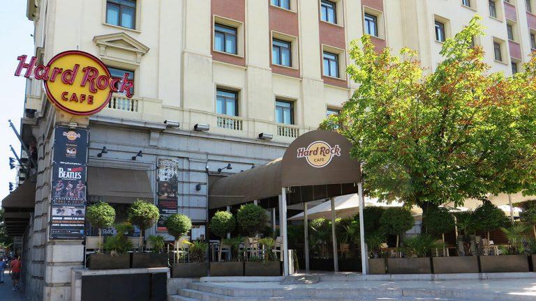 Cierra el mítico Hard Rock Cafe de Madrid
